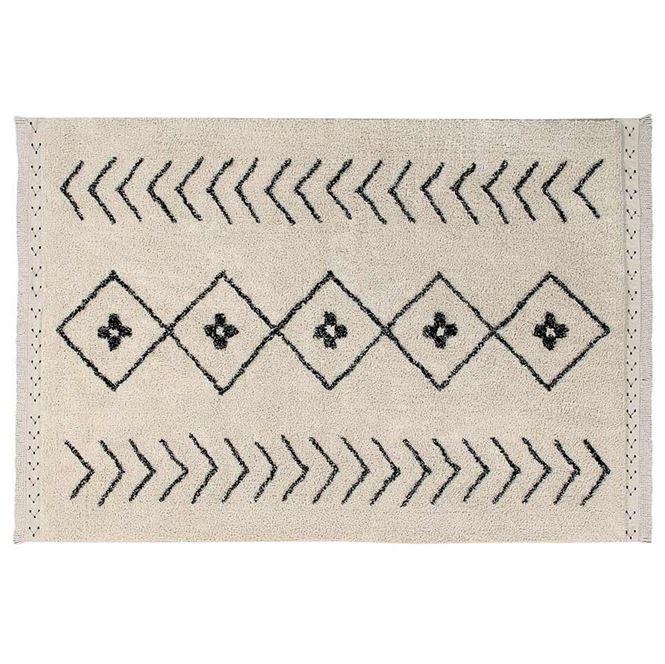 Lorena Canals Waschbarer Teppich Bereber Rhombs 120 x 170