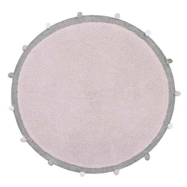 Lorena Canals Waschbarer Teppich Bubbly Light Pink