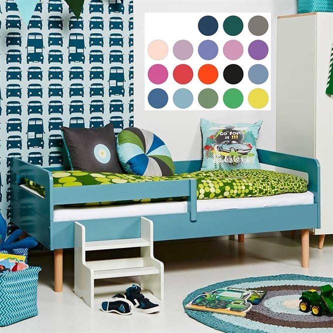 Manis-h Juniorbett 90 x 160 cm Retro Athene 18 Farben