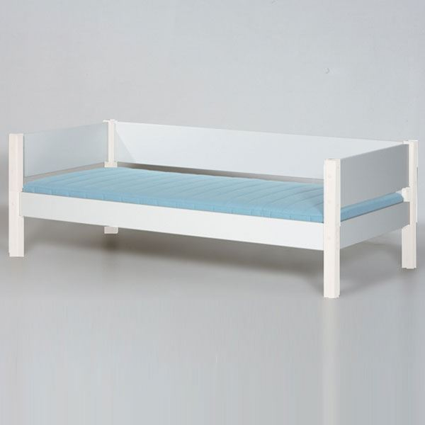 Manis-h Kinderbett Tor Weiß