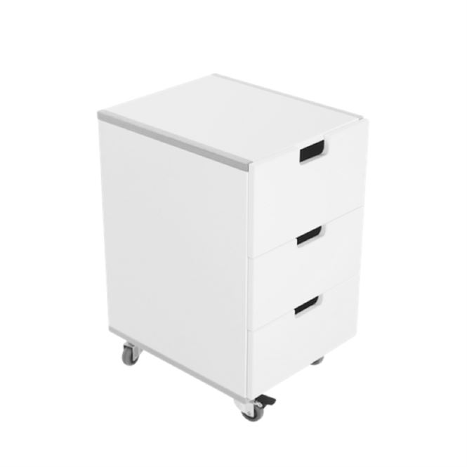 Manis-h Rollcontainer Weiß