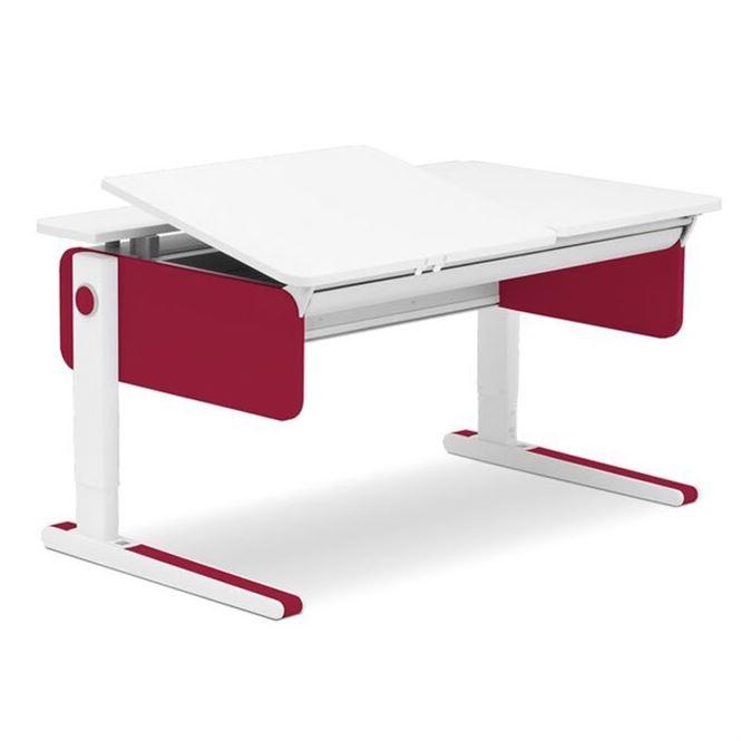 Moll Champion Style Left Up Schreibtisch Rot