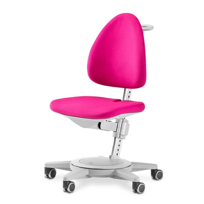 Moll Schreibtischstuhl Maximo grau Pink