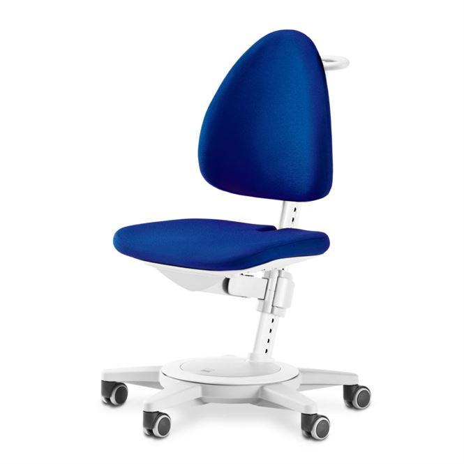 Moll Schreibtischstuhl Maximo weiss Blau