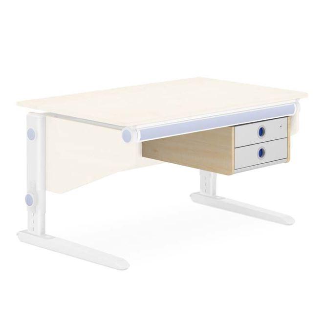 Moll Twin Box für den Schreibtisch Winner Ahorn