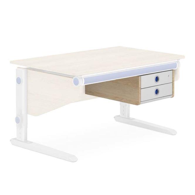 Moll Twin Box für den Schreibtisch Winner Eiche