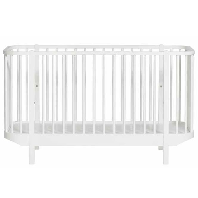 Oliver Furniture Babybett Wood weiß