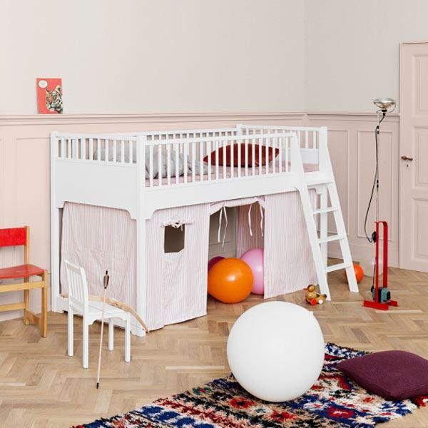 Oliver Furniture Hochbett Seaside halbhoch