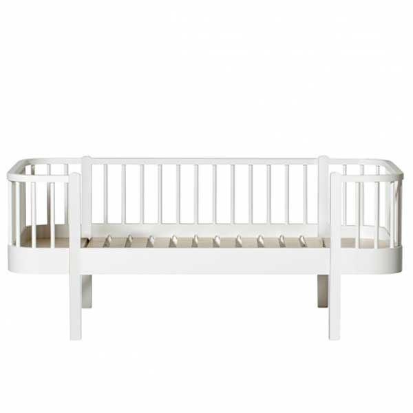 Oliver Furniture Junior Bettsofa Wood Weiß