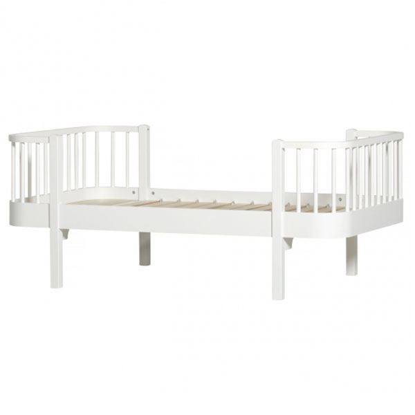 Oliver Furniture Kinderbett Wood 90 X 160 Cm Weiß