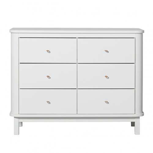 Oliver Furniture Kommode Wood Weiß