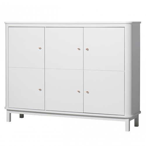 Oliver Furniture Sideboard Multi-Schrank Wood Weiß