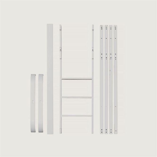 Oliver Furniture Umbauset Wood Mini+ zum halbhohen Hochbett Weiß