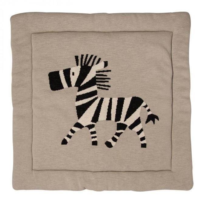 Quax Tipi Krabbel- und Spieldecke Zebra 100x100 cm