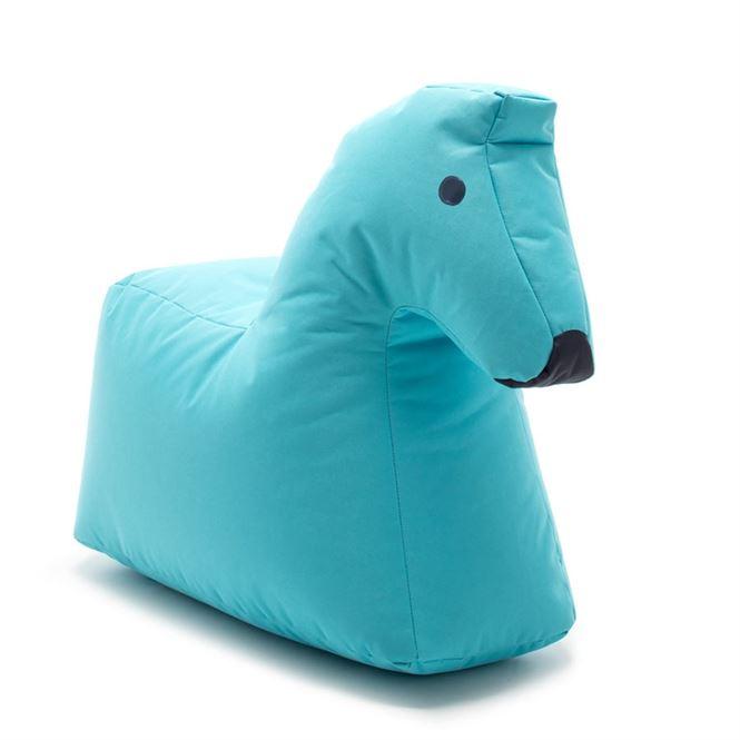 Sitting Bull Sitzsack Happy Zoo Lotte Pferd Hellblau