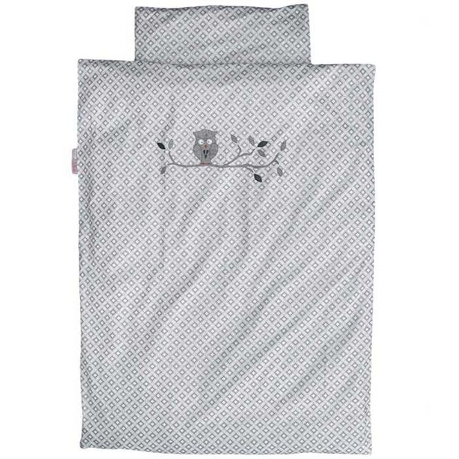 Taftan Kinderbettwäsche Eule 135 x 200 cm