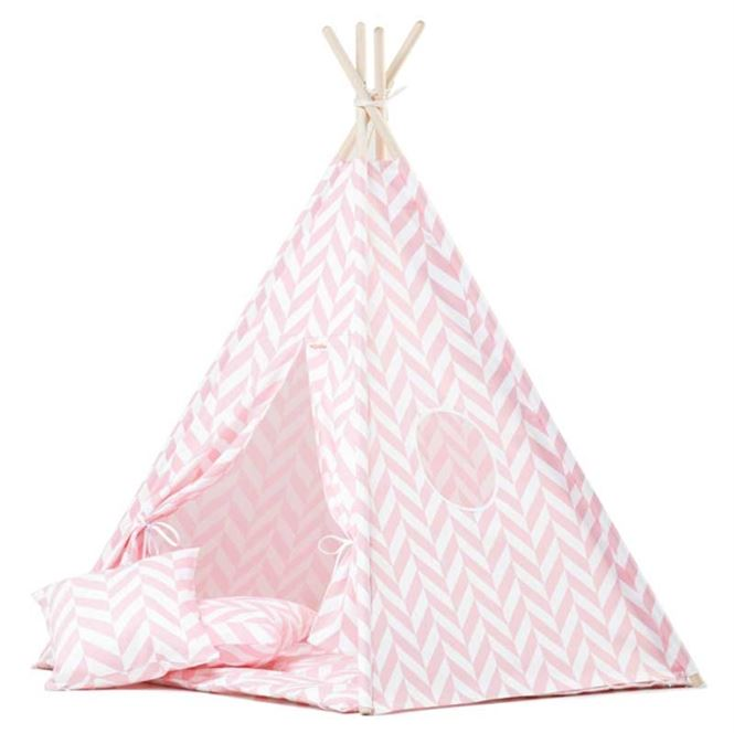 Wigiwama Tipizelt Herringbone Pink
