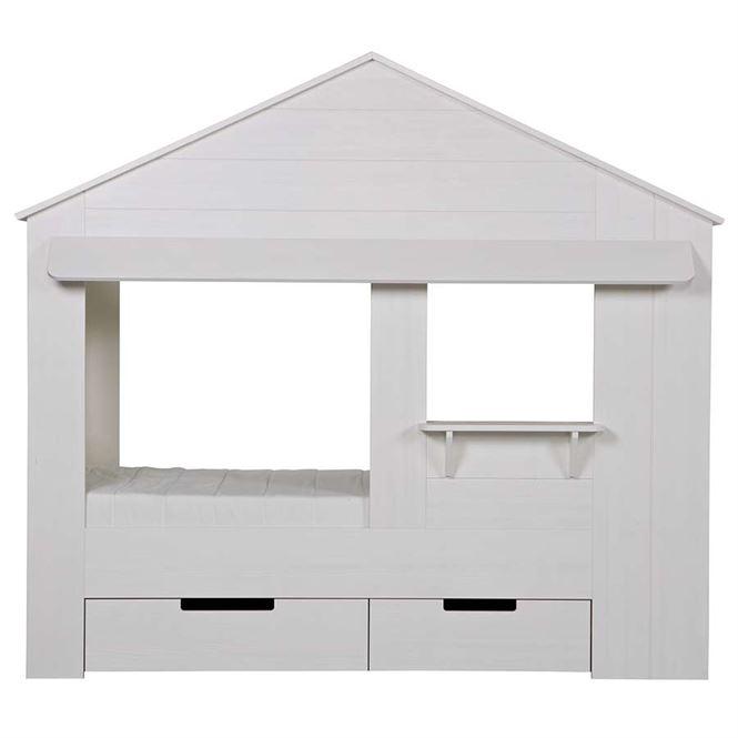 Woood Kinderbett Haus - Hausbett Mit Schubladen