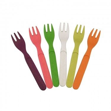 Zuperzozial Gabel-Set Rainbow
