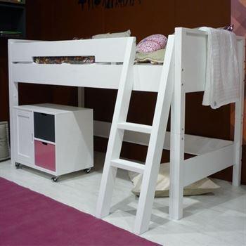 Halbhochbett Combiflex mit schräger Leiter - Kinderzimmerhaus
