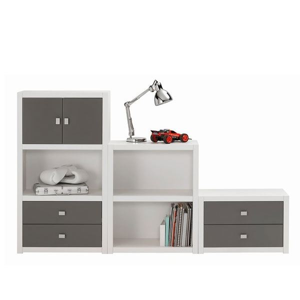 lifetime regal niedrig 44 cm hoch kinder regalsystem. Black Bedroom Furniture Sets. Home Design Ideas