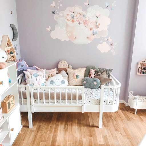 Oliver Furniture Kinderbett Wood 90 x 160 cmWeiß