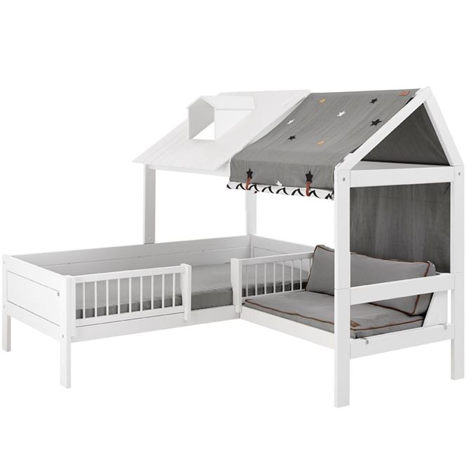 lifetime beachehouse bett mit sitzplatz kinderzimmerhaus. Black Bedroom Furniture Sets. Home Design Ideas