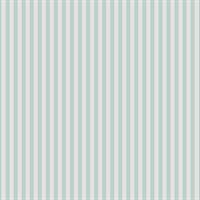 Casadeco Tapete Rayure Bicolore blau weiß