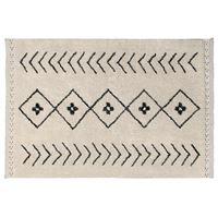 Lorena Canals Waschbarer Teppich Bereber Rhombs 140 x 210