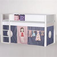 Hochbetten Mädchen hochbett umbaubar mitwachsend kinderhochbetten