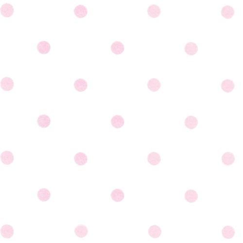 tapete dots wei rosa von annette frank. Black Bedroom Furniture Sets. Home Design Ideas
