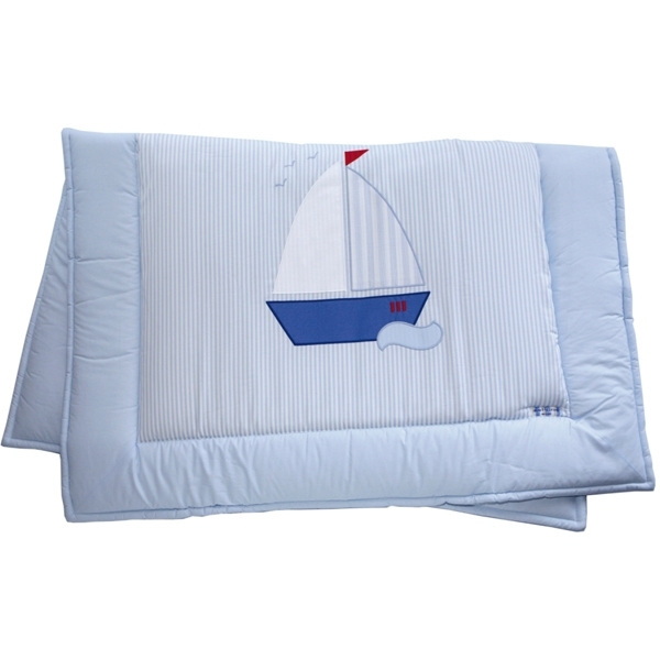 baby krabbeldecke segelboot von annette frank. Black Bedroom Furniture Sets. Home Design Ideas