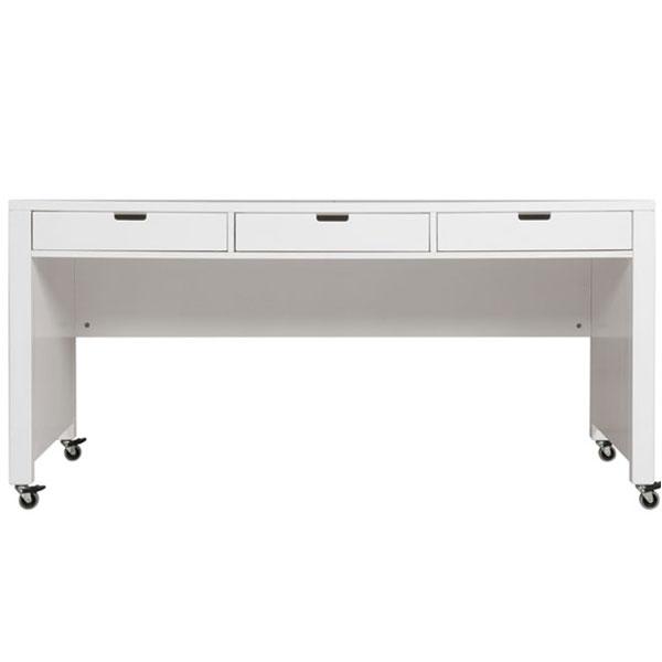 Schreibtisch auf rollen dekoration bild idee for Schreibtisch mit rollen