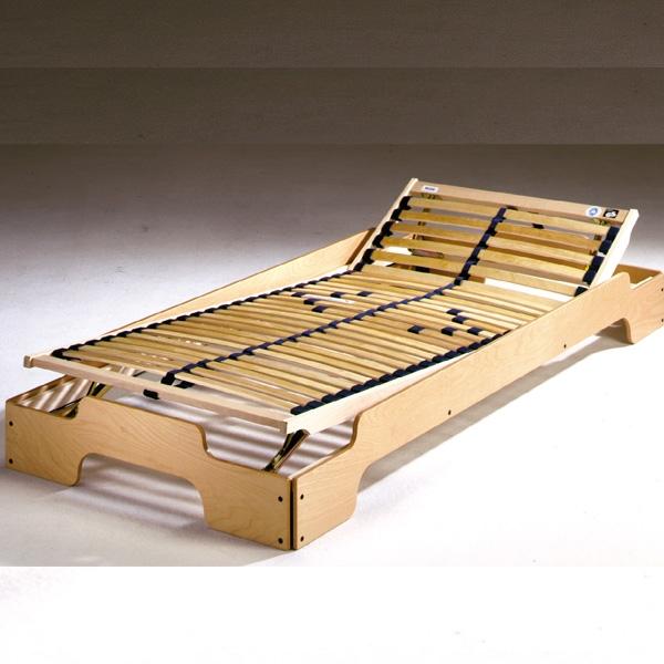 lattenrost massivholzrahmen flexibel f r die stapelliege. Black Bedroom Furniture Sets. Home Design Ideas