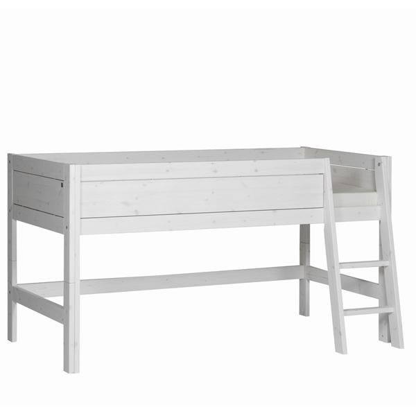 lifetime minihochbett mit schr ger leiter kinderhochbett. Black Bedroom Furniture Sets. Home Design Ideas