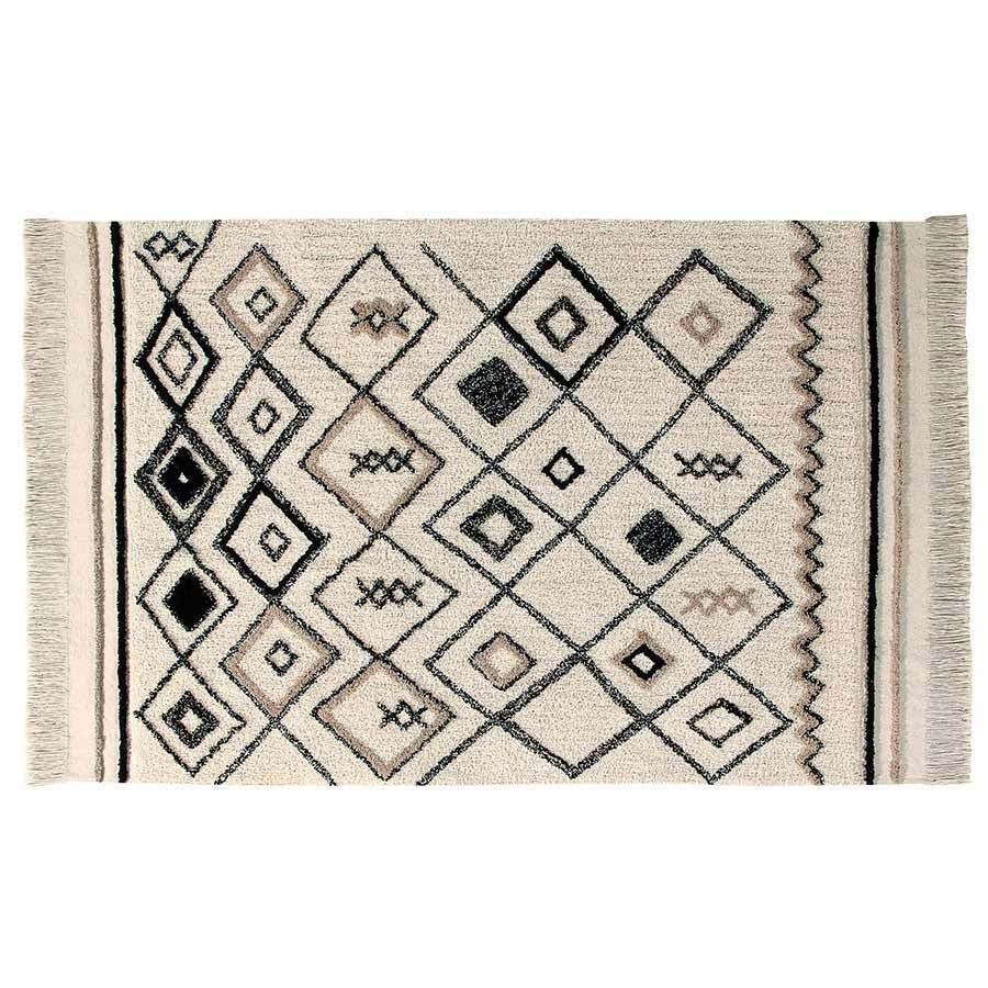 lorena canals waschbarer teppich bereber ethnic 120 x 180 kinderzimmerhaus. Black Bedroom Furniture Sets. Home Design Ideas