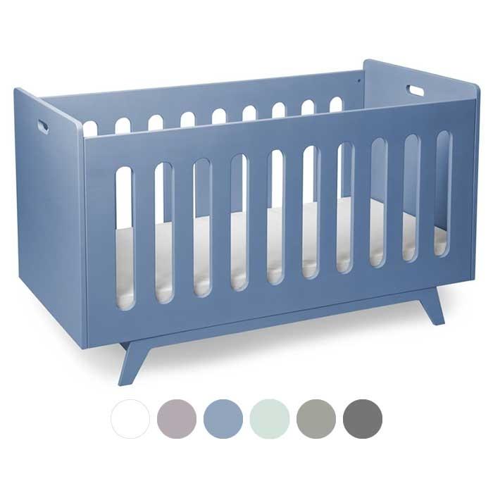 mimm kinderbett 70 x 140 cm blau kinderzimmerhaus. Black Bedroom Furniture Sets. Home Design Ideas