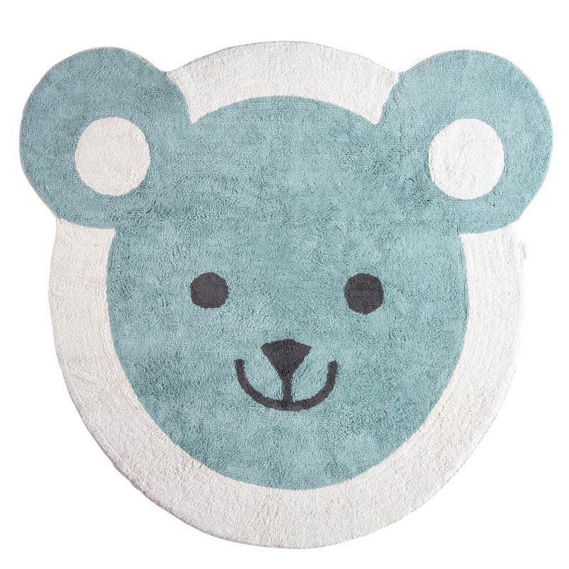 minividuals Teppich Rund Bär