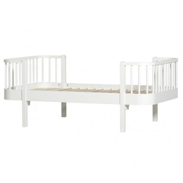 oliver furniture kinderbett wood 90 x 160 cmwei. Black Bedroom Furniture Sets. Home Design Ideas