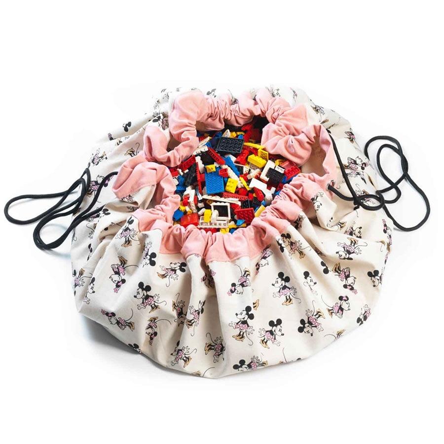 play go spielbeutel disney micky maus pink kinderzimmerhaus. Black Bedroom Furniture Sets. Home Design Ideas