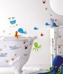 sticker marin wandgestaltung im kinderzimmer. Black Bedroom Furniture Sets. Home Design Ideas