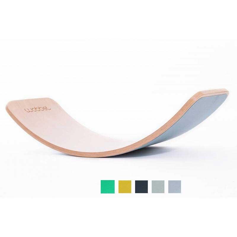 wobbel balance board transparent mit filz farbwahl. Black Bedroom Furniture Sets. Home Design Ideas