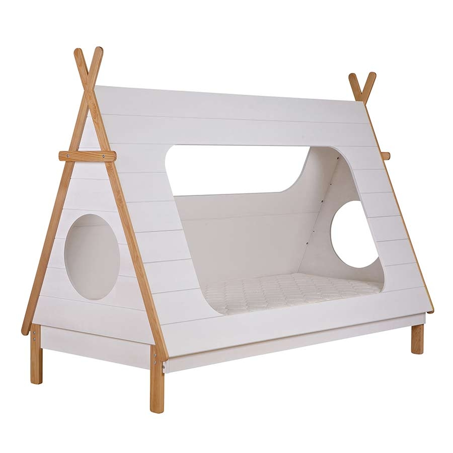 woood tipi bett spielbett online im kinderzimmerhaus kaufen. Black Bedroom Furniture Sets. Home Design Ideas