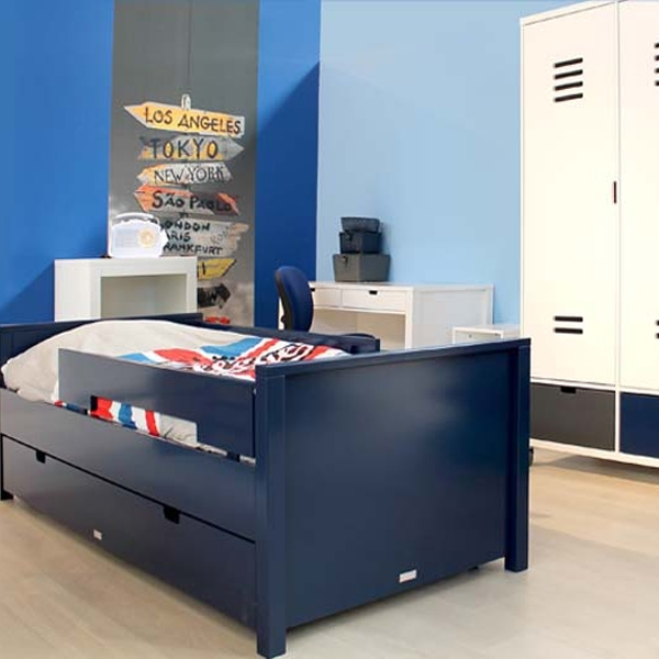 bopita bett mix match jonne dunkelblau kinderzimmerhaus. Black Bedroom Furniture Sets. Home Design Ideas