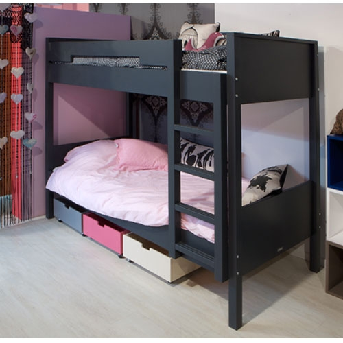 geschwister kinderzimmer etagenbett mit schrank. Black Bedroom Furniture Sets. Home Design Ideas