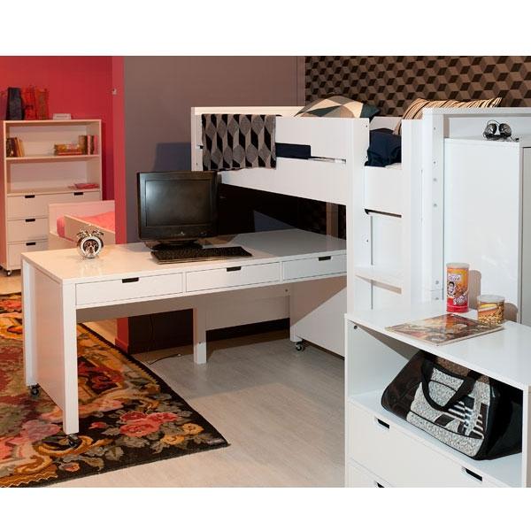 bopita schreibtisch xl auf rollen kinderzimmerhaus. Black Bedroom Furniture Sets. Home Design Ideas