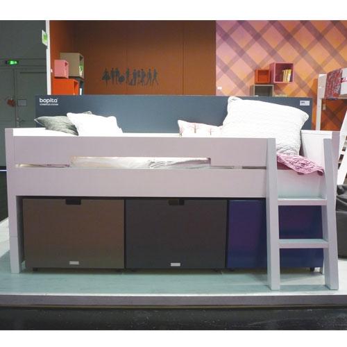 combiflex kompaktbett mit treppe von bopita. Black Bedroom Furniture Sets. Home Design Ideas