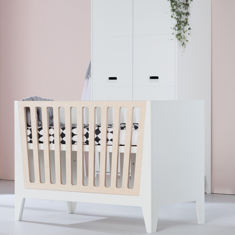 Kidsmill Babybett Nikki Weiß/Natur inkl. Aufbau - Kinderzimmerhaus