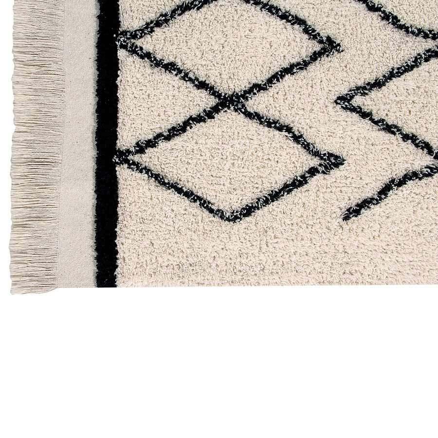 lorena canals waschbarer teppich bereber crisscross 120 x 170 kinderzimmerhaus. Black Bedroom Furniture Sets. Home Design Ideas