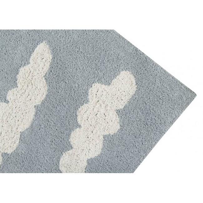 lorena canals waschbarer teppich clouds grey kinderzimmerhaus. Black Bedroom Furniture Sets. Home Design Ideas